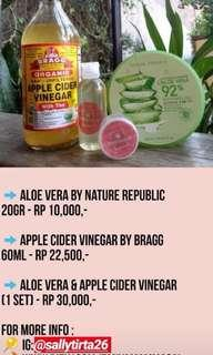 Nature Republic & Apple Cider Vinager
