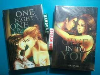 GLS BUNDLE/ Good Lips Series (Give In To You & One Night One Lie / GITY & ONOL) by Jonaxx
