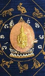 Thai Amulet Ac tiew Phra Phrom itpiso 2557