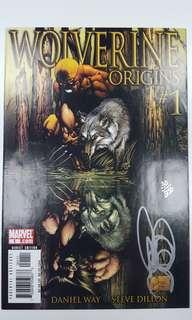 Wolverine Origins #1 (2006) Signed & Numbered By Daniel Way, Dynamic Forces Limited Edition Book 30 Out Of Only 250 Copies & Sold-Out World-Wide! Nuff Said!!