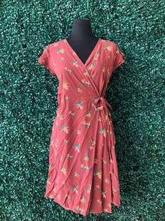Wrap around dress small-large