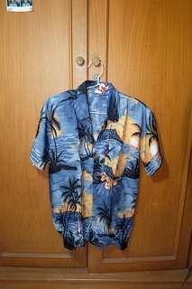 Beach theme shirt