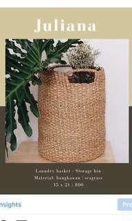 Storage bin & laundry box