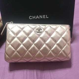 Chanel Cosmetic Pouch (SLG)