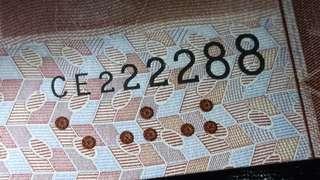 🎉 孖發尾🎉 。CE2222 88 / 2014年 中國銀行500元