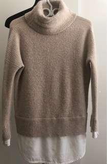 ALLSAINTS alpaca+wool sweater size S