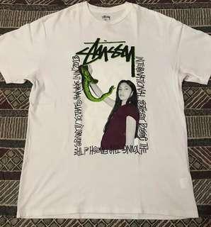 Stussy Snake Woman Frame Logo
