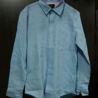 🚚 藍色襯衫
