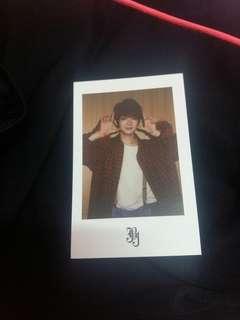 JBJ Kenta First Fan-Con Official Polaroid