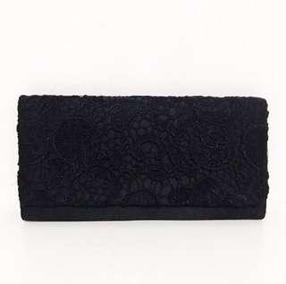 Laced Dinner Clutch