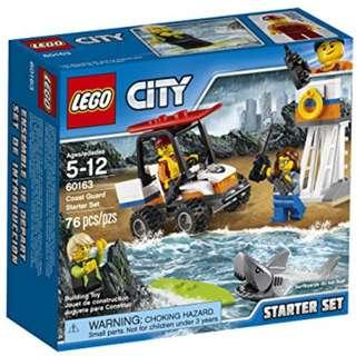 Lego 60163 Coast Guard Starter Set (Minifigures and shark)