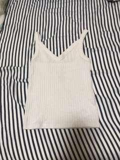 American eagle white soft and sexy cami top
