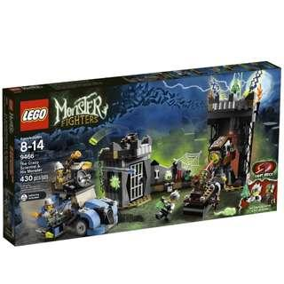 Lego 9466 - Monster Fighters - The Crazy Scientist & His Monster