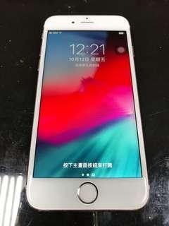 IPhone 6s 玫瑰金 16g 4.7吋 (IOS:12) 單機無盒無配件、 外觀有多處傷痕、功能完全正常。