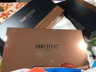 Pony effect customized lip palette