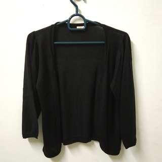 (SOLD) Outer Cardigan Hitam