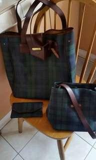 Ralph Lauren set of bags  . wallet not available