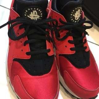 NIKE 紅黑 黑紅 武士鞋 運動鞋