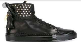 Authentic buscemi calf leather sneakers