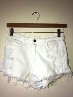 Size 8 mini shorts