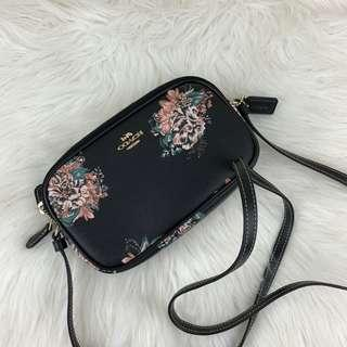 [OTW stock] COACH CROSSBODY POUCH FLORAL