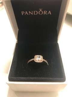 Pandora Timeless Elegance Rose Gold Ring