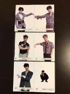 Monsta X Beautiful Album Photocards and Oath