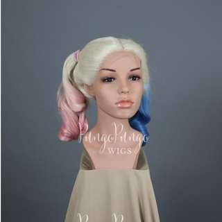 Harley Quinn Suicide Squad Lace Front Wig for Cosplay/Halloween
