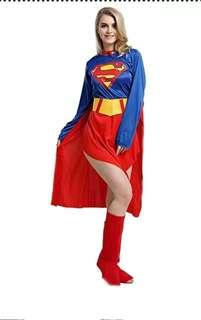 SuperGirl Costume - Halloween or Dress up party