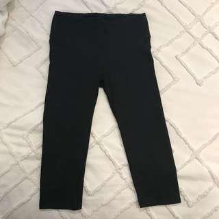 Black knee tights