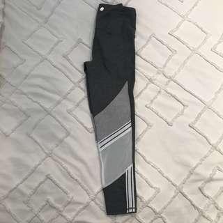 Grey 3/4 tights