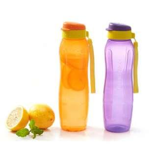 tupperware eco bottles 1L, 750ML,300ML!!