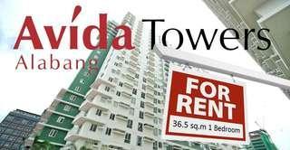 Avida Towers Alabang 36.5 sq.m 1 Bedroom