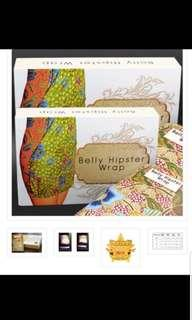 Alltentic belly wrap