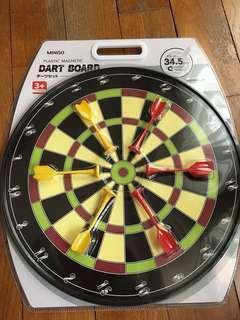 Miniso Dart Board plastic magnetic