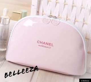 Authentic Chanel VIP Gift Baby Pink Gloss Clutch