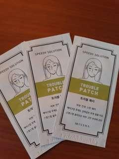 Missha trouble patch 12pc/pack