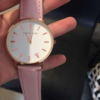the fifth pink watch