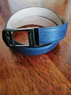 Braun Buffel genuine leather belt