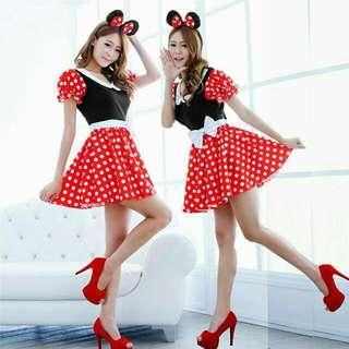Minnie Mouse Dress for Adult