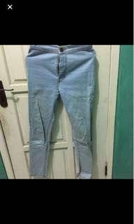 Ripped jeans celana / jeans levis