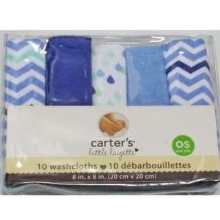 <<NEW>> Baby Washcloths - Baby Handkerchiefs (10pcs in 1 set)