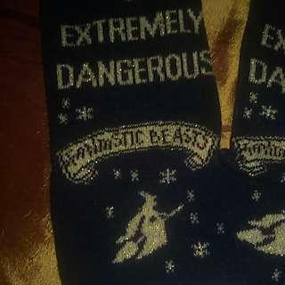 Authentic Fantastic Beasts socks