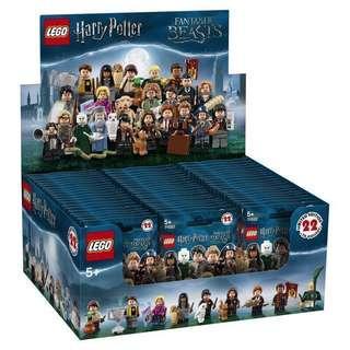 LEGO 71022 Harry Potter Minifigure Sealed Box of 60