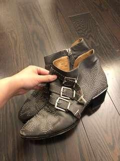 Chloe authentic Susanna Ankle Boots Shoes - size 37
