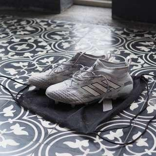 adidas ACE 17.1 Primeknit (Clear Grey/White/Core Black) US8.5