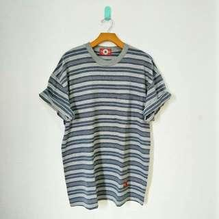 Converse Grey Stripe Tee