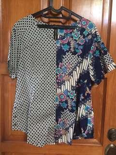 Blouse Batik Cantik (satu pasang dengan bawahan)