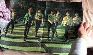 BTS BANGTAN BOYS RUN POSTER KPOP ALBUM