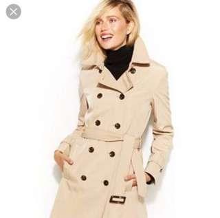 Women's small Calvin Klein trench coat